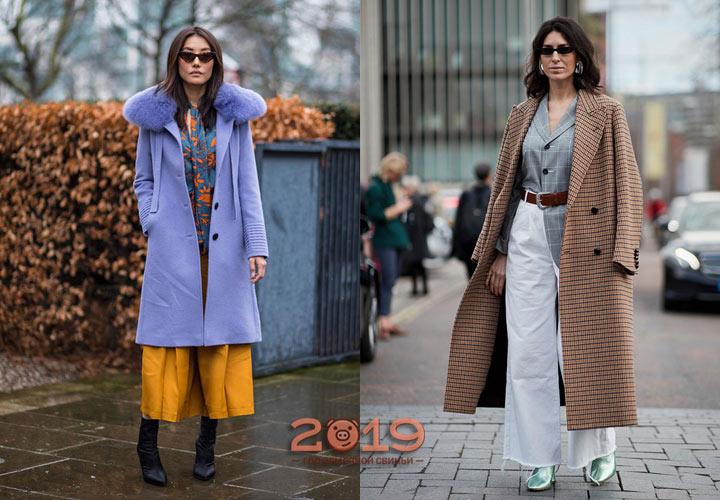 Лондонский стит стайл зима 2018-2019