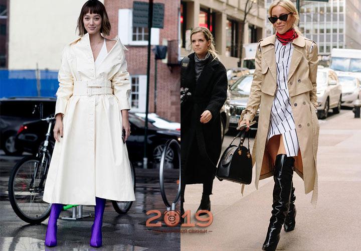 Уличная мода Нью-Йорка зима 2018-2019