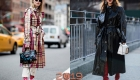 Стрит-стайл Нью-Йорк осень-зима 2018-2019