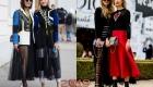 Стильные луки уличной моды Парижа зима 2018-2019