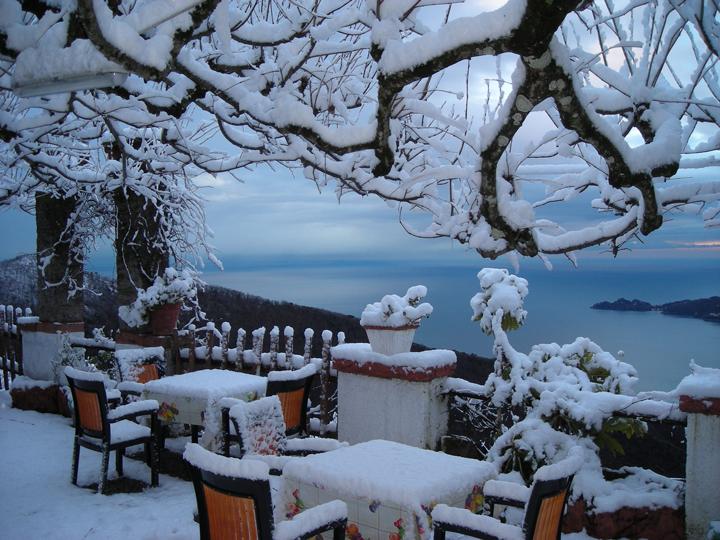 Италия: январь