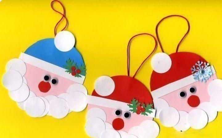 Аппликация Дед Мороз