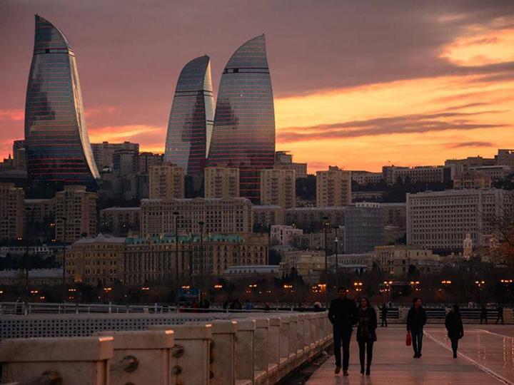 Баку: погода в январе