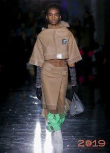 Бежевый цвет мода 2018-2019 года