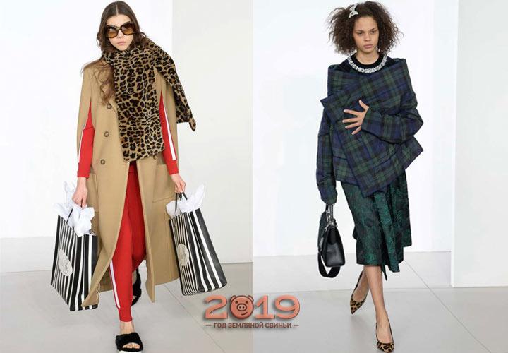 Модные пальто и накидки 2019 года