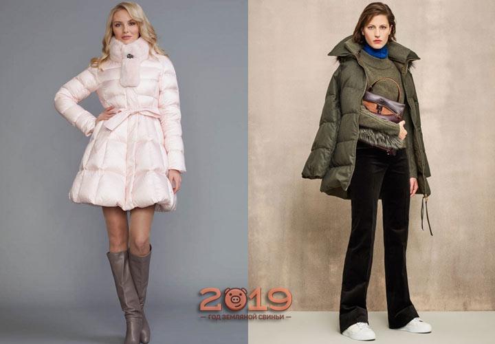Модный пуховик сезона  осень-зима 2018-2019
