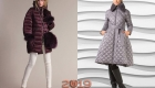 Fashionable models of quilted jackets and coats