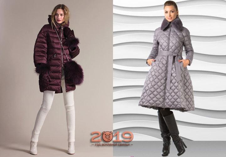 Модные модели стеганых курток и пальто