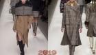 Пальто в мужском стиле зима 2018-2019