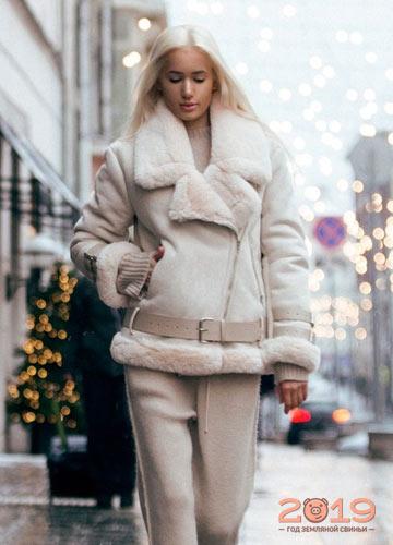 Зимняя одежда для женщин 2019
