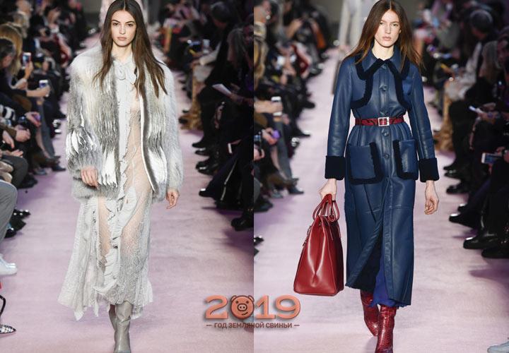 Лучшие модели верхней одежды зима 2018-2019