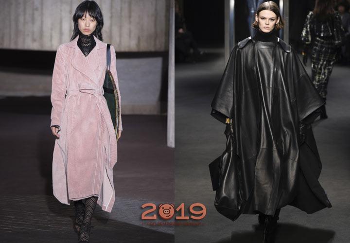 Лучшие модели пальто на зиму 2018-2019 года