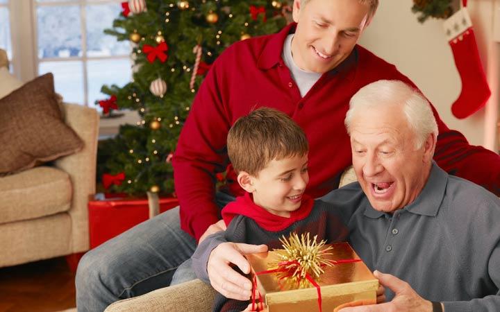 Подарок дедушке на Новый 2019 год: что подарить, варианты изоражения