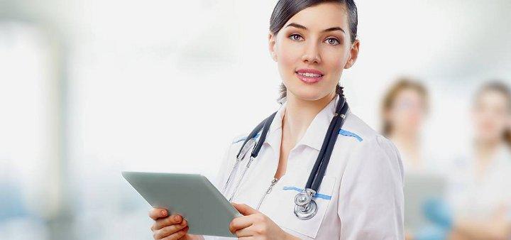 врач с историей болезни