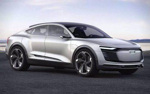 Экстерьер Audi e-tron Sportback 2019