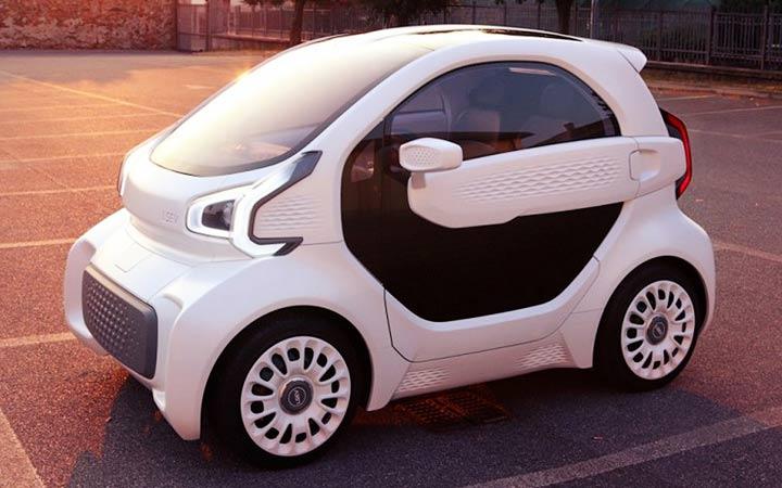 Электромобиль LSEV 2019 года