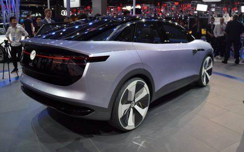 Презентация Volkswagen I.D. Crozz 2019