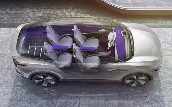 Электромобиль Volkswagen I.D. Crozz 2019 года