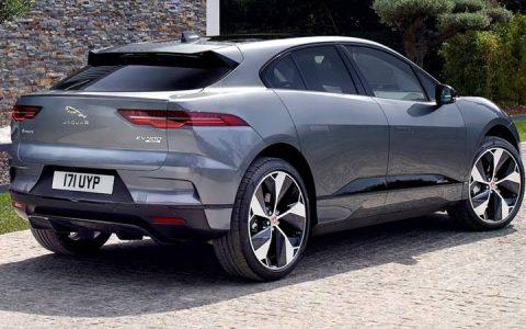 Электромобиль Jaguar I-Pace 2019 года
