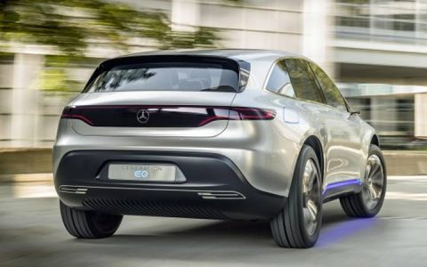 Экстерьер Mercedes-Benz EQ 2019