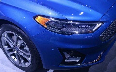 Оптика Ford Mondeo 2018-2019