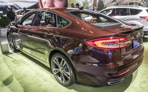 Новый кузов Ford Mondeo 2018-2019