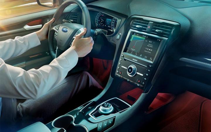 Ford Mondeo универсал 2019-2020 интерьер
