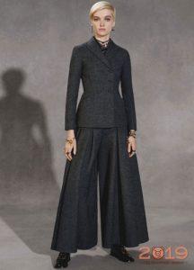 Костюм Диор с юбкой-брюками