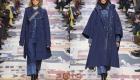 Модные пальто Диор зима 2018-2019