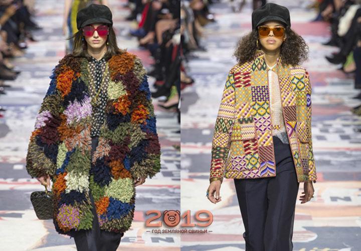 Лоскутная мода сезона осень-зима 2018-2019