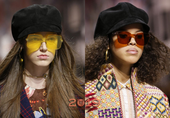 Модные очки в образах Диор