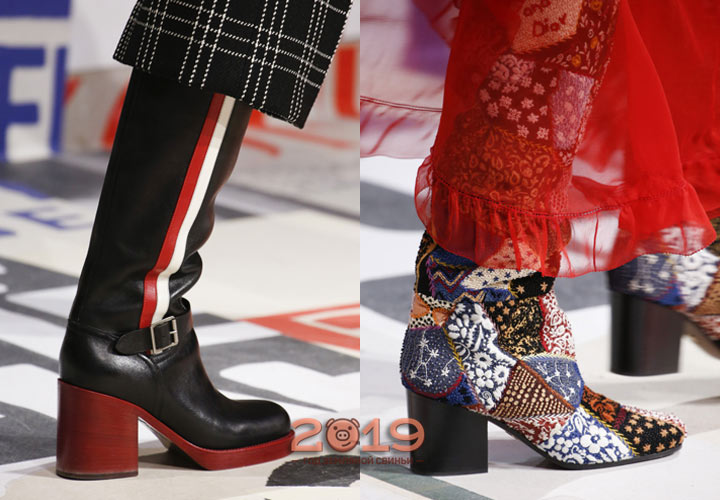 Сапоги Dior  зима 2018-2019
