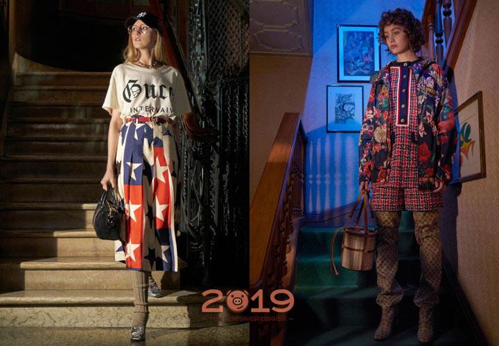 Gucci коллекция осень-зима 2018-2019