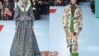 Платки в образах Gucci осень-зима 2018-2019