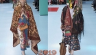 Платки показ Gucci Милан осень-зима 2018-2019