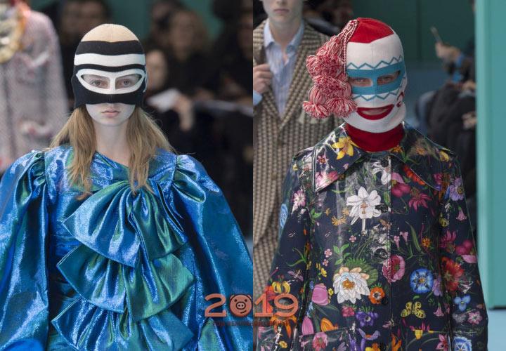 Головные уборы Gucci осень-зима 2018-2019