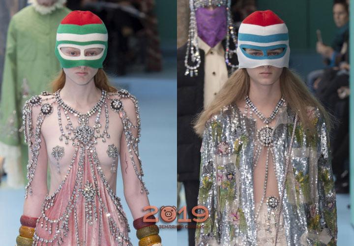 Аксессуары Gucci осень-зима 2018-2019