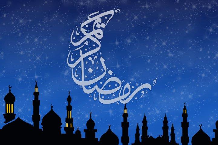полумесяц на фоне мечети