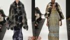 Жилет из комбинированного меха мода 2019 года