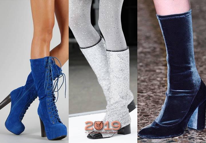 Сапожки для модницы зима 2018-2019