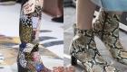 Модная принтованая обувь зима 2018-2019