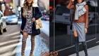 Цветные ботфорты мода 2019 года