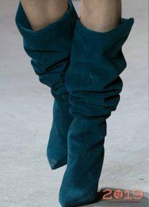 Сапоги гармошкой мода 2019 года