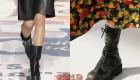 Грубые ботинки тренд зимы 2081-2019 года