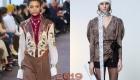Baskılar ile moda bluzlar sonbahar-kış 2018-2019