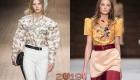 Kabarık kollu moda 2018-2019 yıl