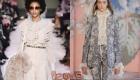 2018-2019 arası fırfırlı kışlık moda bluzlar