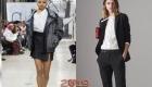Moda ceket sonbahar-kış 2018-2019 ile bluz