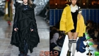 Модные асимметричные куртки зима 2019