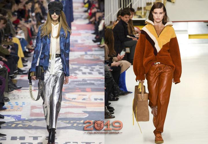 Модные луки для зимы 2018-2019